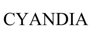 mark for CYANDIA, trademark #85335431