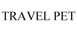 mark for TRAVEL PET, trademark #85336794