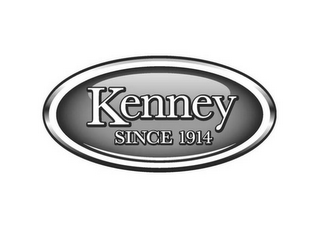 mark for KENNEY SINCE 1914, trademark #85338350