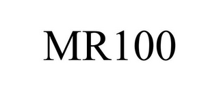 mark for MR100, trademark #85339353