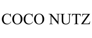 mark for COCO NUTZ, trademark #85339972