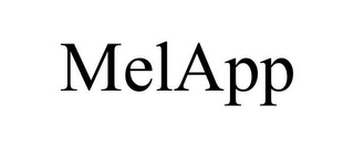 mark for MELAPP, trademark #85340245