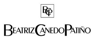mark for BCP AND BEATRIZ CANEDO PATIÑO, trademark #85340897