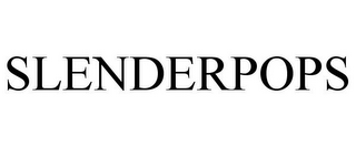 mark for SLENDERPOPS, trademark #85342195