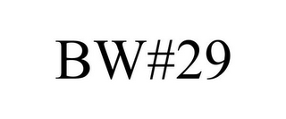 mark for BW#29, trademark #85342490
