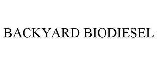 mark for BACKYARD BIODIESEL, trademark #85342769