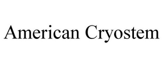 mark for AMERICAN CRYOSTEM, trademark #85343423