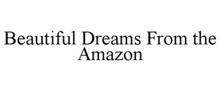 mark for BEAUTIFUL DREAMS FROM THE AMAZON, trademark #85343864