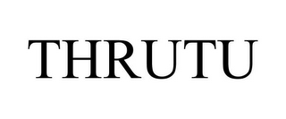 mark for THRUTU, trademark #85344689