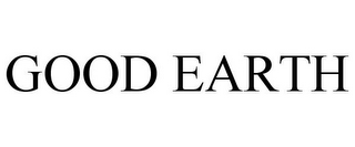 mark for GOOD EARTH, trademark #85344787