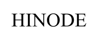 mark for HINODE, trademark #85345086
