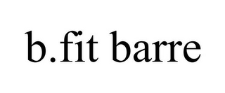 mark for B.FIT BARRE, trademark #85345393