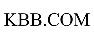 mark for KBB.COM, trademark #85345472