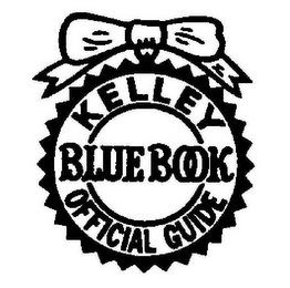 mark for KELLEY BLUE BOOK OFFICIAL GUIDE, trademark #85345480