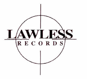 mark for LAWLESS RECORDS, trademark #85346214