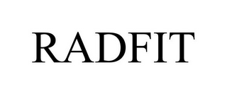 mark for RADFIT, trademark #85346513