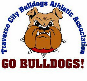 mark for TRAVERSE CITY BULLDOGS ATHLETIC ASSOCIATION TCBAA GO BULLDOGS!, trademark #85346559