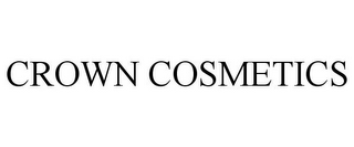 mark for CROWN COSMETICS, trademark #85347019