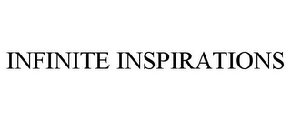 mark for INFINITE INSPIRATIONS, trademark #85347093