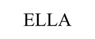 mark for ELLA, trademark #85347159