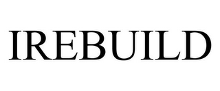 mark for IREBUILD, trademark #85347670