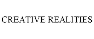 mark for CREATIVE REALITIES, trademark #85347701