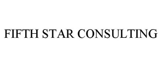 mark for FIFTH STAR CONSULTING, trademark #85347853