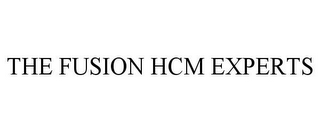 mark for THE FUSION HCM EXPERTS, trademark #85347973