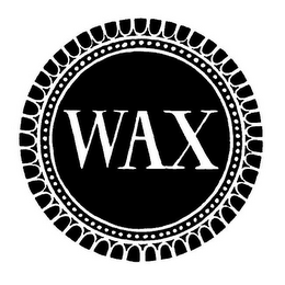 mark for WAX, trademark #85348595