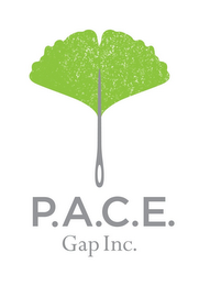 mark for P.A.C.E. GAP INC., trademark #85349309