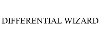 mark for DIFFERENTIAL WIZARD, trademark #85349621