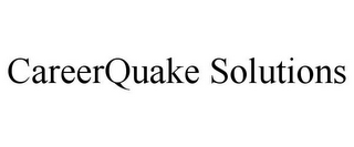 mark for CAREERQUAKE SOLUTIONS, trademark #85349832