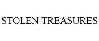 mark for STOLEN TREASURES, trademark #85350279