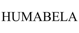 mark for HUMABELA, trademark #85350740