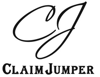 mark for CJ CLAIM JUMPER, trademark #85350750