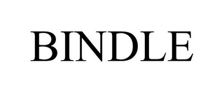 mark for BINDLE, trademark #85350843