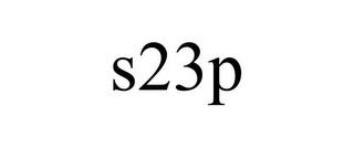 mark for S23P, trademark #85350925