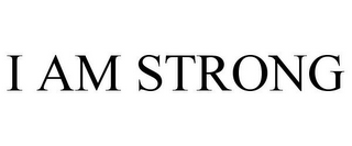 mark for I AM STRONG, trademark #85350980