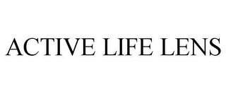 mark for ACTIVE LIFE LENS, trademark #85351584