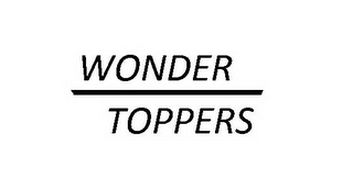 mark for WONDER TOPPERS, trademark #85352301