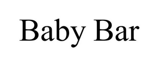 mark for BABY BAR, trademark #85352886