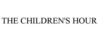 mark for THE CHILDREN'S HOUR, trademark #85352924