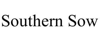 mark for SOUTHERN SOW, trademark #85352994