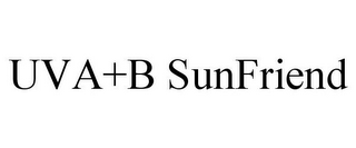 mark for UVA+B SUNFRIEND, trademark #85353443