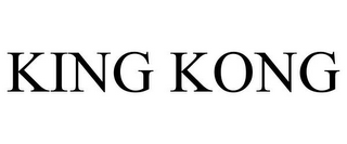 mark for KING KONG, trademark #85353847