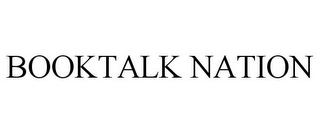 mark for BOOKTALK NATION, trademark #85354384