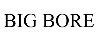 mark for BIG BORE, trademark #85354508