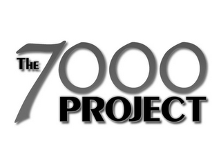 mark for THE 7000 PROJECT, trademark #85354849