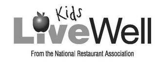 mark for KIDS LIVE WELL FROM THE NATIONAL RESTAURANT ASSOCIATION, trademark #85355095