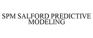 mark for SPM SALFORD PREDICTIVE MODELING, trademark #85355424